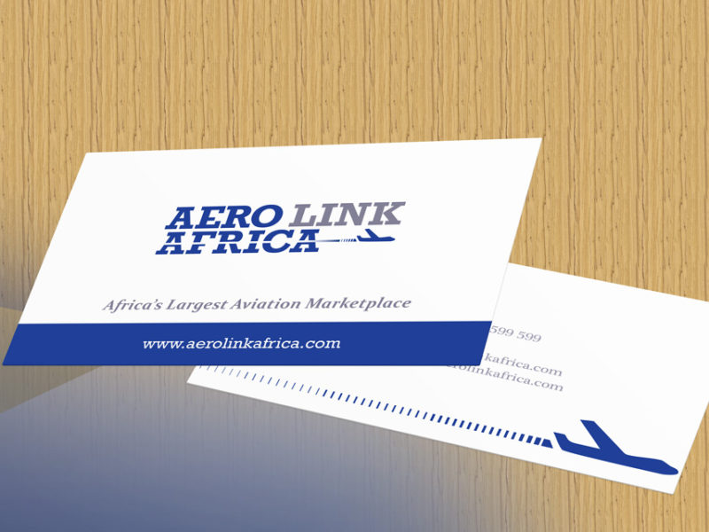 Logo design cape town business card design south africa logo and business card design aero link africa colourmoves Choice Image